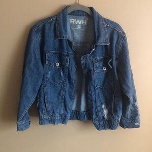 Buckle denim jacket!